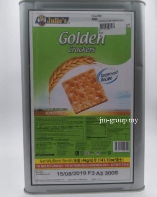 JULIES BISCUIT GOLDEN CRACKER 4KG