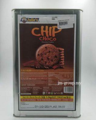 JULIES BISCUIT CHOCO CHIPS 5.5KG