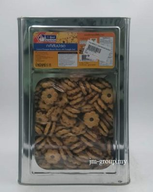 TH BISCUIT COCONUT WITH PINEAPPLE JAM 5KG