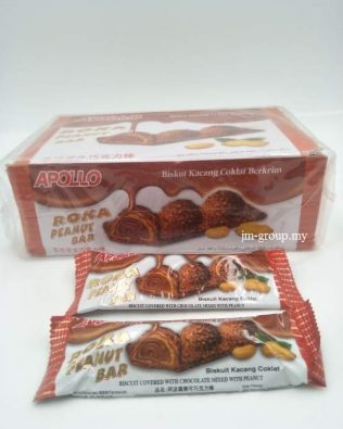 APOLLO ROKA PEANUT BAR 24PCS