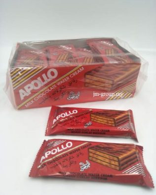 APOLLO WAFER 24PCS MILK CHOCOLATE WAFER CREAM
