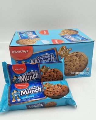 CAPTAIN MUNCH CHOC CHIPS 60Gx12