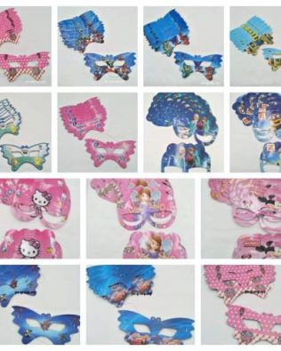 CARTOON PAPER MASK 10PCS