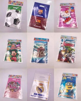 CARTOON PARTY BAGS (S) 10PCS