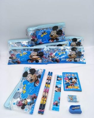 CARTOON STATIONERY SET 12PCS