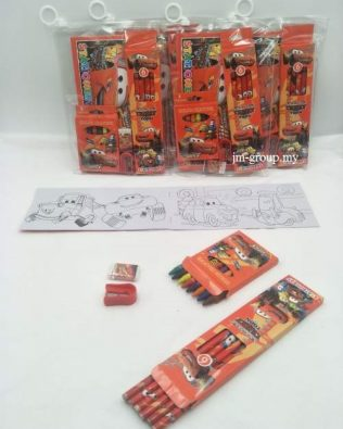 COLOURING WITH CRAYON SET 12PCS