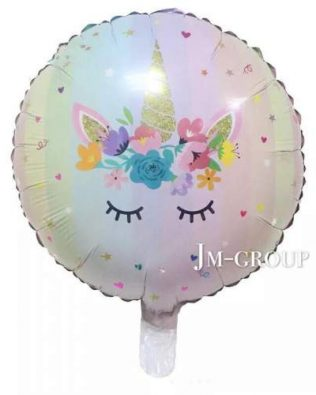 18 INCHI FOIL BALLON UNICORN