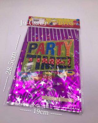 LASER PARTY BAGS (L) 10PCS