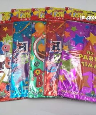 LASER PARTY BAG (S) 10PCS