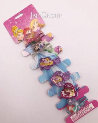 PRICESS HAIR BAND 6PCS