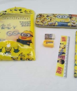 STATIONERY WITH PENCIL BOX