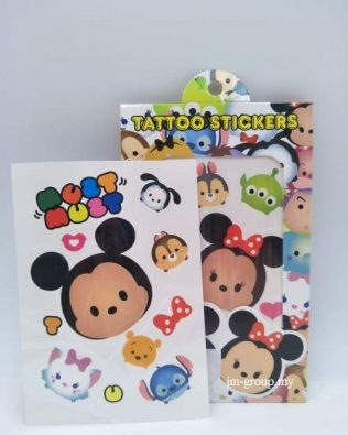 TATOO DISNEY 3PCS