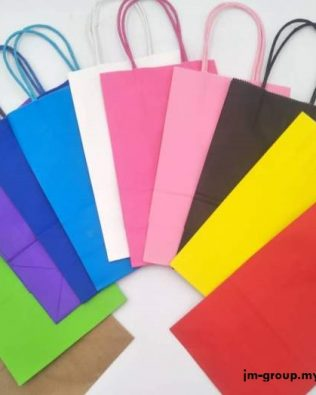 COLOURFUL PAPER BAG (S) 12PCS