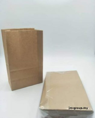 BROWN / WHITE PAPER BAG 50PCS