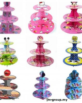 CARTOON CUP CAKE STAND
