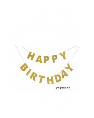 HAPPY BIRTHDAY SHINING BANNER