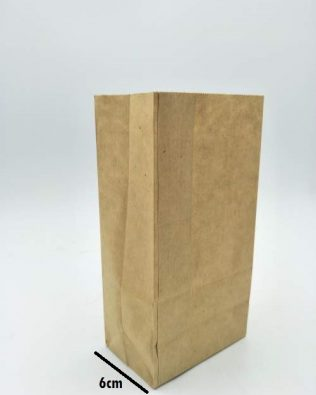 BROWN PAPER BAG (S) 50PCS