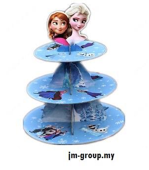 CUP CAKE STAND PREMIUM  SPIDER MAN / FROZEN / THOMAS / UNICORN