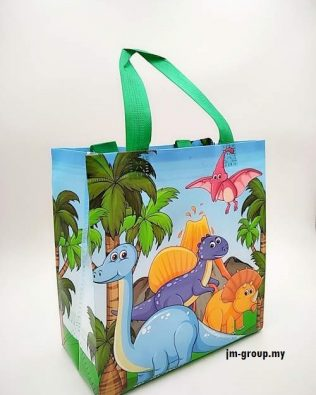 DINOSAUR BAG 12PCS