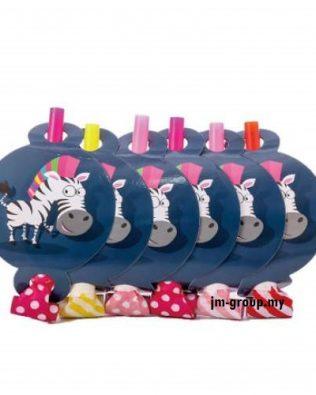 PARTY CARTOON BLOW OUT 6PCS  Flamingo / Animal