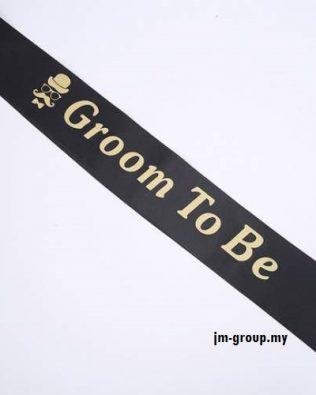 SASH GROOM TO BE