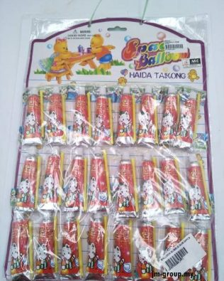 BALLOON BUBBLE GUM 24PCS