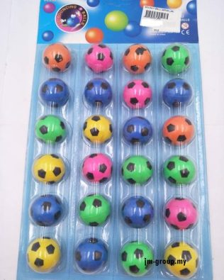 BOUNCY BALL 24PCS