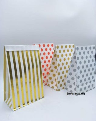 DESIGN KRAFT BAGS 10PCS