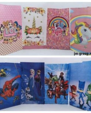 CARTOON PAPER BAG 10PCS
