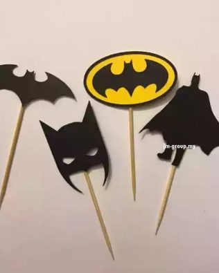CAKE TOPPER BATMAN 4PCS