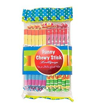 FUNNY CHEWY STICK 24PCS