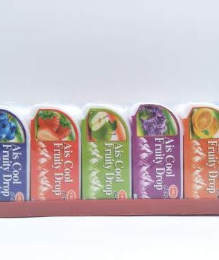 AIS COOL FRUITY DROP 20PCS Orange / Grape / Apple / Strawberry / Blueberry