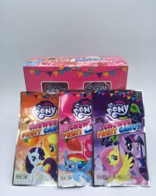 LITTLE PONY CHEWEE CANDY 24PCS