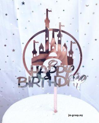 HAPPY BIRTHDAY CAKE TOPPER  DISNEY