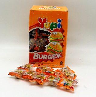 YUPI GUMMY BURGER 576G