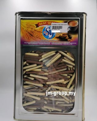 TH BISCUIT TWO TONE CIGAR 4KG