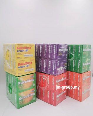 KukuBima Ginseng Royal Jelly 6 sachets X 4.5g ( Pineapple / Mangga / Grape /Original/ Guava / Orange)